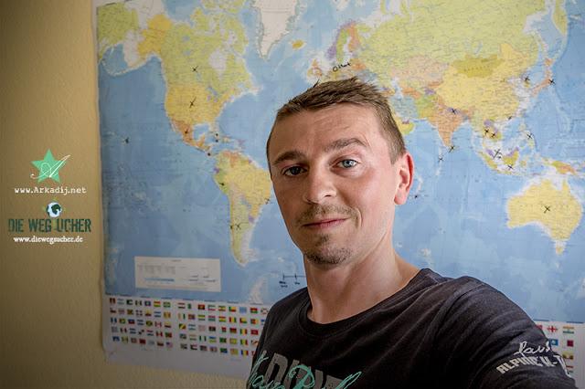 Musiker Arkadij Schell vor der Weltreise 2017