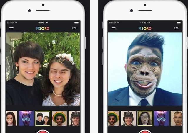δωρεάν εφαρμογή που αλλάζεις το πρόσωπό σου σε πραγματικό χρόνο
