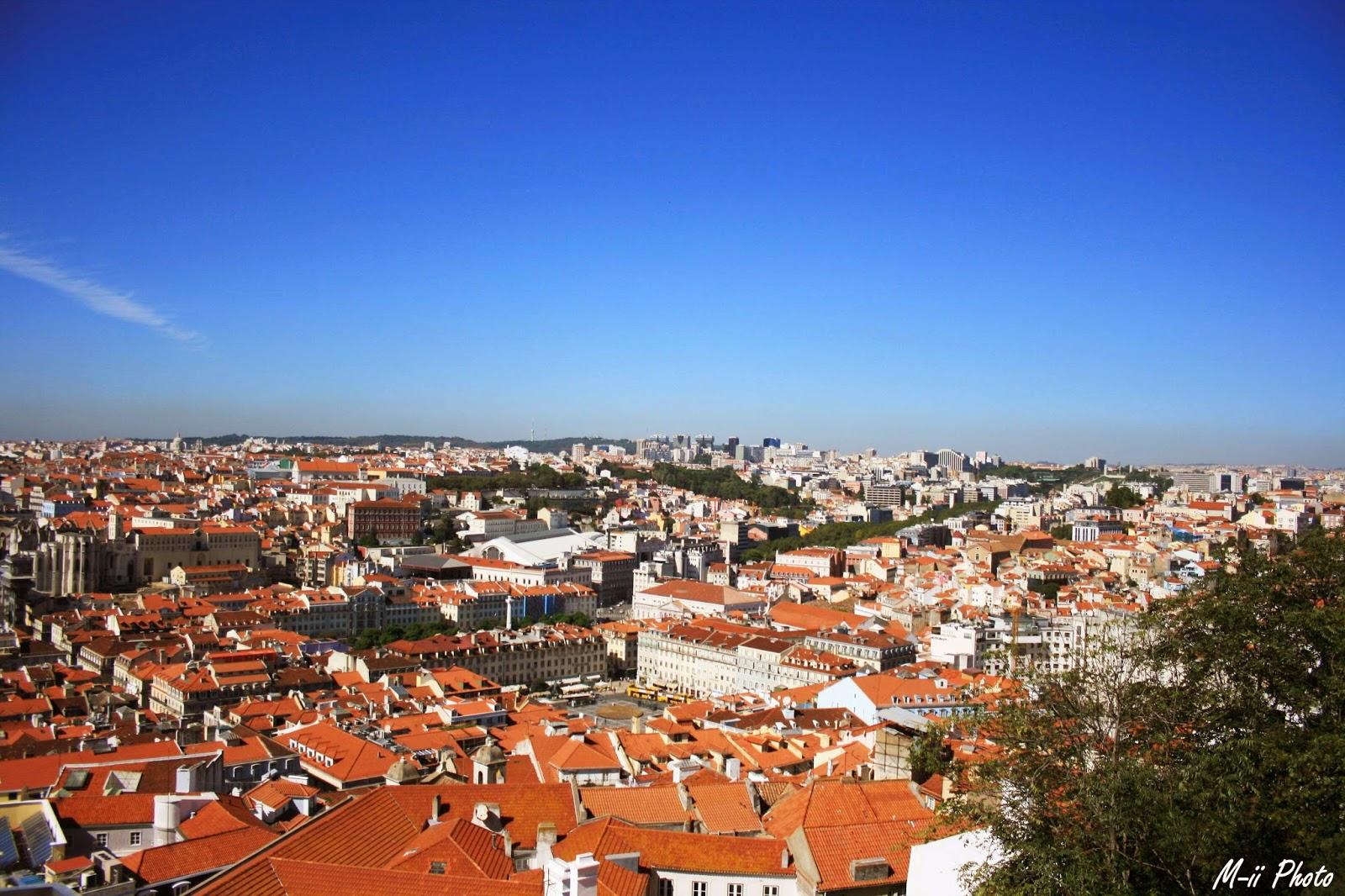 M-ii Photo : 10 choses à faire à Lisbonne Château de Saint Georges