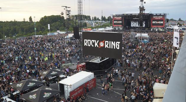 rock am ring evacuar