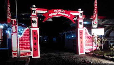 Jasa Gate, Gapura, Gerbang di Jogja | Dekorasi Event di