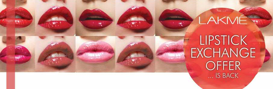 ChangeYour Old Lipsticks for New and Save with Lakme ...Lakme Lipstick Shade Card With Shade Number With Price