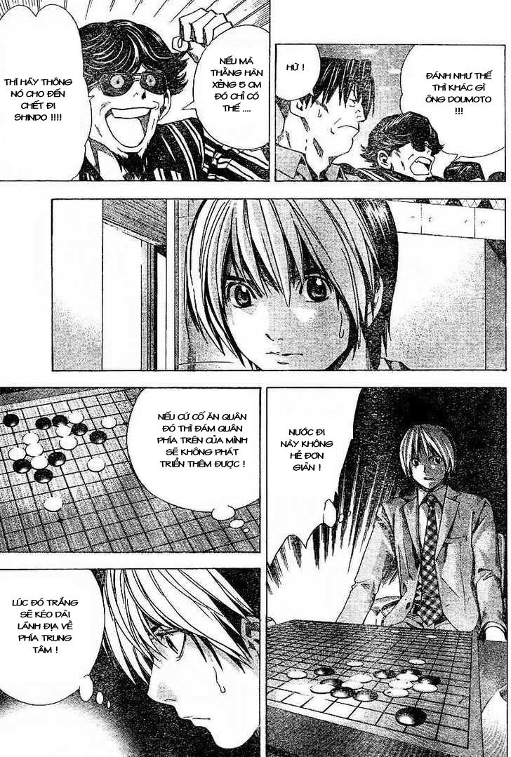 Hikaru No Go hikaru no go chap 184 trang 17