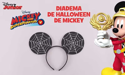manualidad de mickey mouse para Halloween