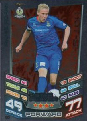 #206 Graham Carey Scottish Premier League Match Attax 2012//13 SPL