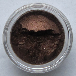 chocolate mineral eyeshadow