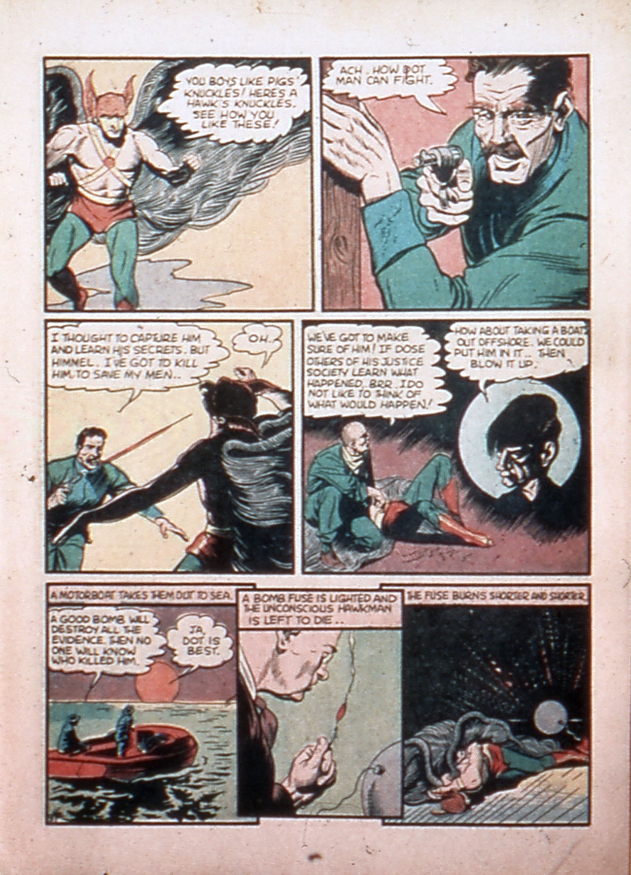 Read online All-Star Comics comic -  Issue #9 - 8
