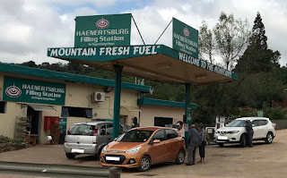 fuel station, Haenertsburg, mountain fresh fuel sign