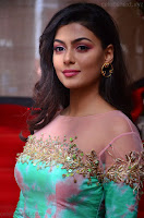 Anisha Ambrose sizzles in cute Green Anarkali Dress at Fashion TV F Club Saloon Launch ~  Exclusive 019.JPG
