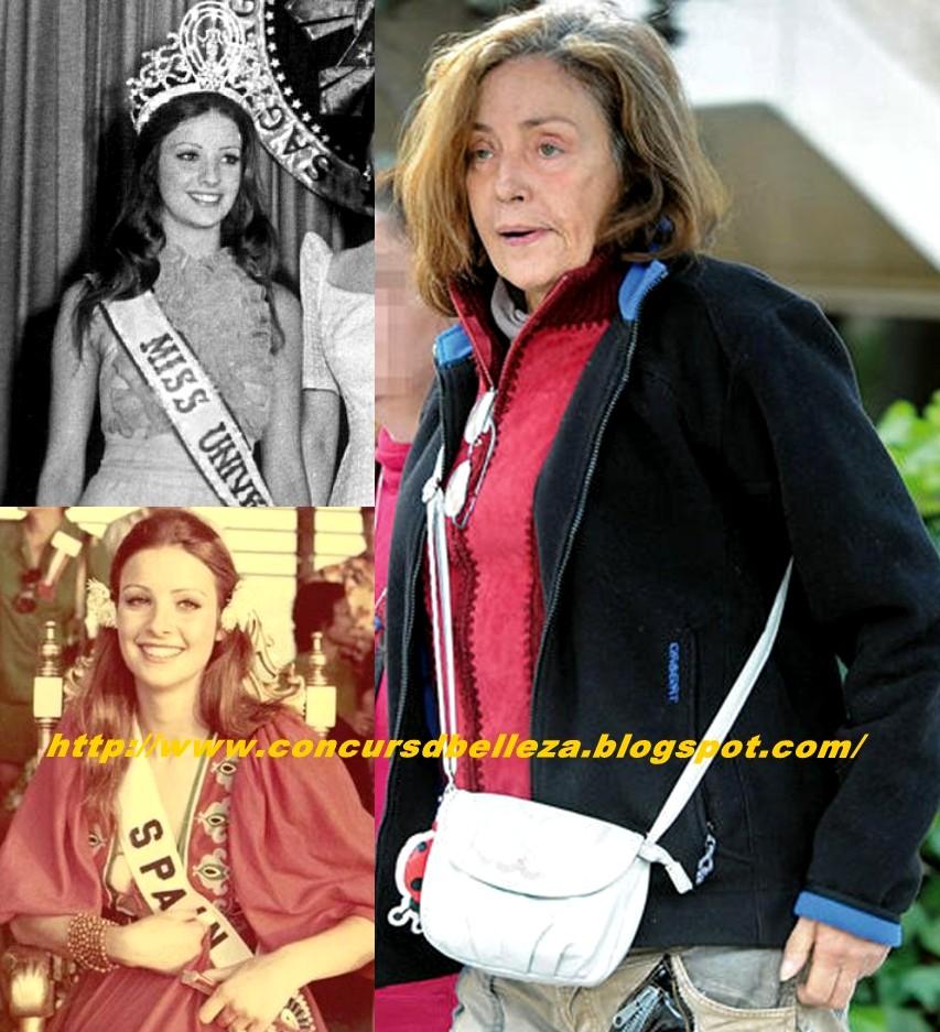 Amparo Muñoz Quesada Fotos concursos de belleza: despedimos a miss universo 1974 q.e.p.d