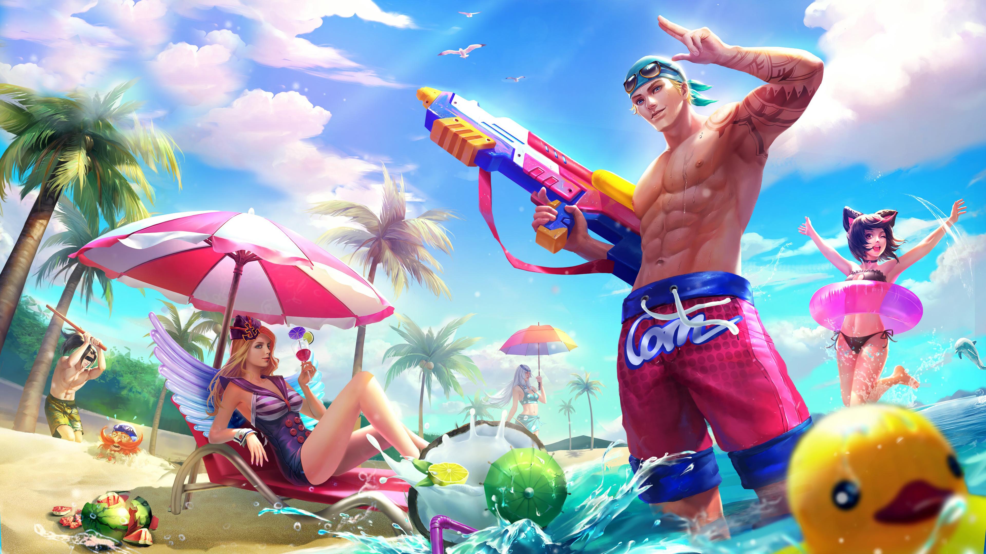 Clint Sun N Sand Freya Beach Sweetheart Summer Skins Mobile