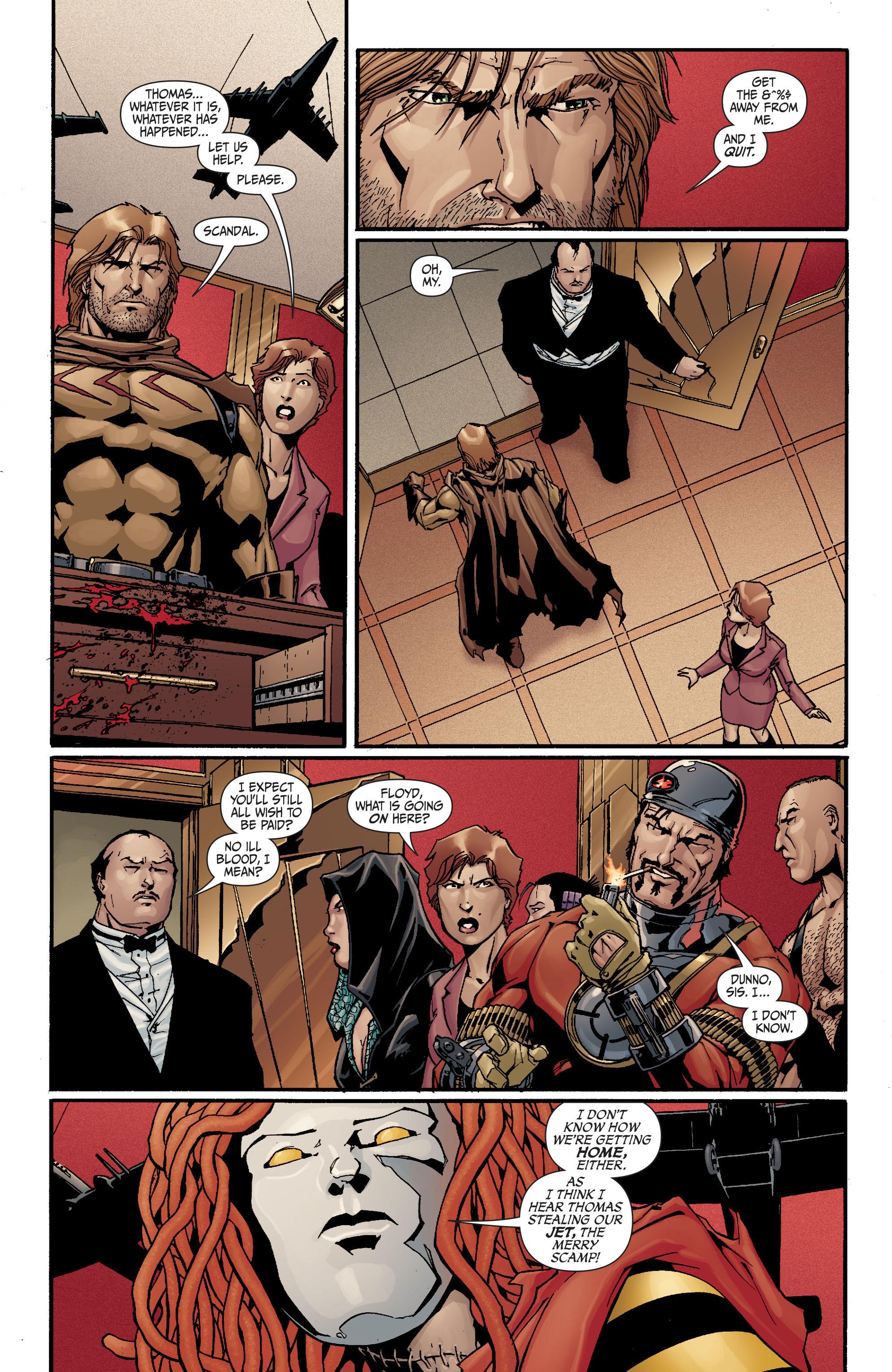 Read online Secret Six (2008) comic -  Issue #20 - 10