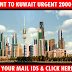 GULF JOBS - RECRUITMENT TO KUWAIT