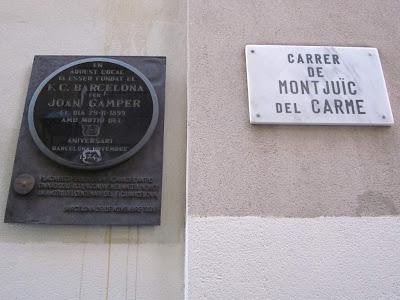 Joan Gamper founded FC Barcelona