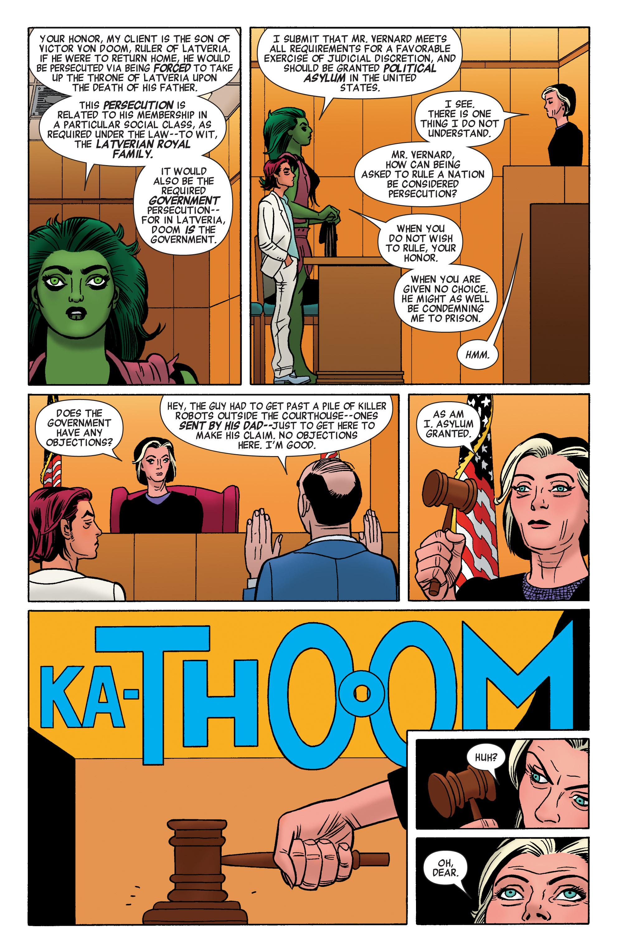 Read online She-Hulk (2014) comic -  Issue #3 - 14