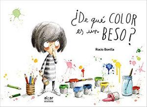 mejores cuentos infantiles, libros preferidos niños, de qué color es un beso rocio bonilla
