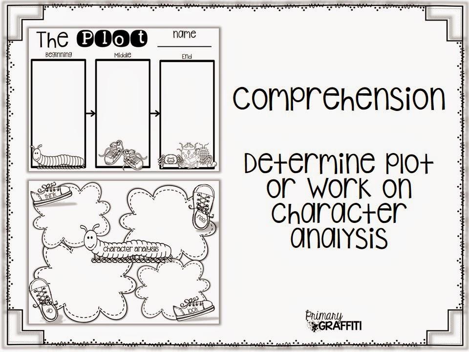 Primary Graffiti: Centipede's 100 Shoes {Book Companion}