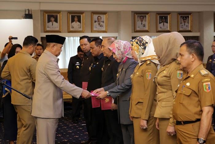 Pemprov Lampung Rolling 20 Pejabat Struktural Esselon II