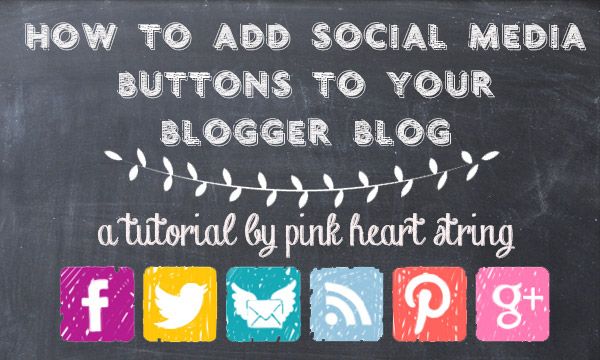 How to Add Social Media Buttons on the Sidebar