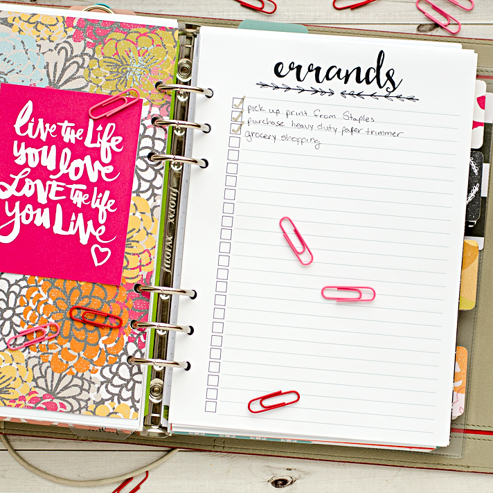 photo regarding A5 Planner Printable referred to as A5 Planner Add Printables - Fresh Releases - Heather