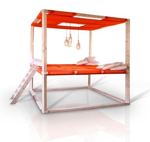 Diseño de espacio de descanso