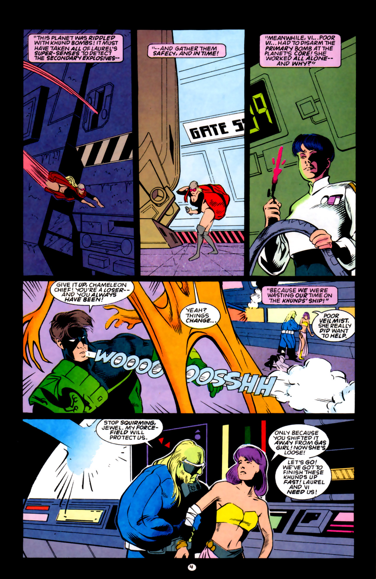 Legion of Super-Heroes (1989) 59 Page 4