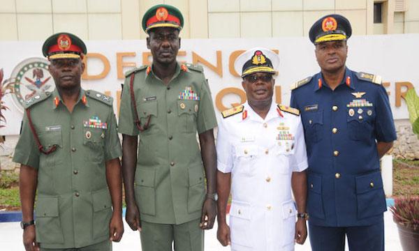 Nigeria's Service Chiefs Relocate To Maiduguri Over Boko Haram