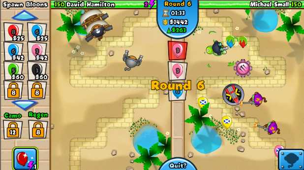 monkey balloon tower defense