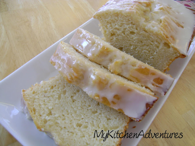 Vanilla  Bean Yogurt Cake:  Moist loaf cake bursting with vanilla flavor!