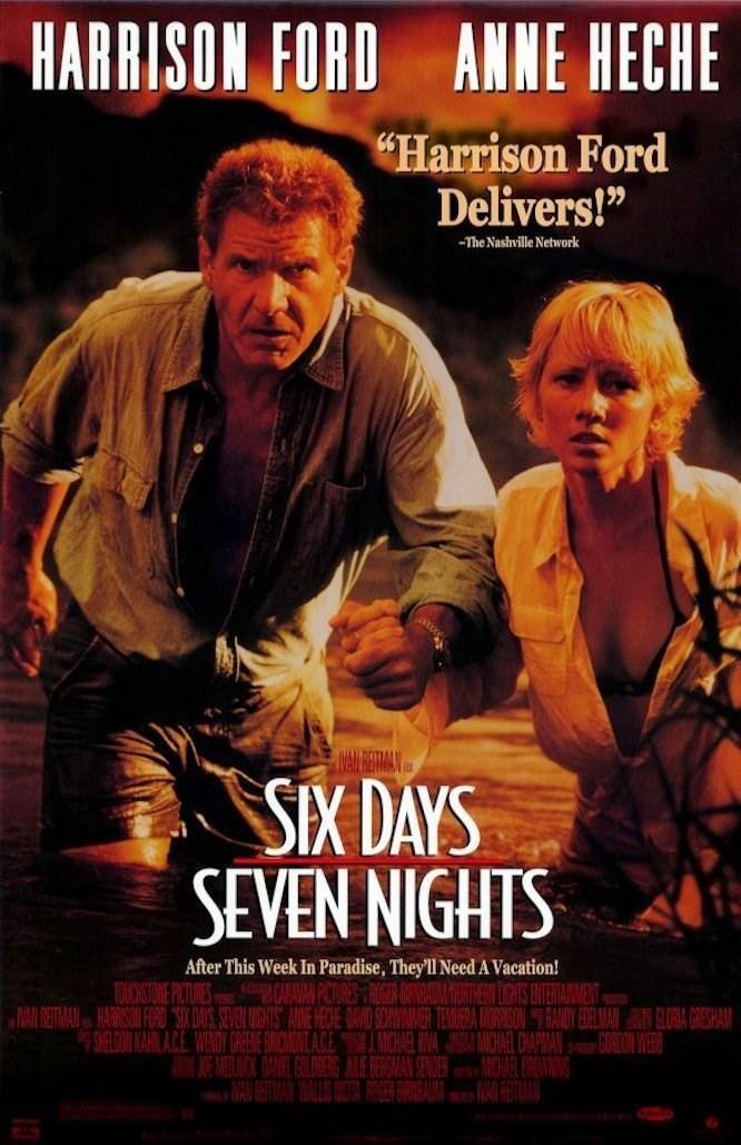 Six Days Seven Nights (1998) 7 คืนหาดสวรรค์ 6 วันอันตราย