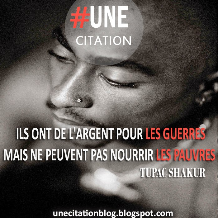 Une Citation Tupac Shakur