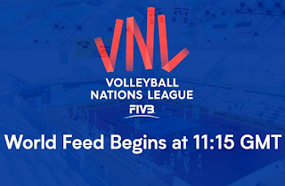FIVB Women's Volleyball Nations League Biss Key 18 May 2018