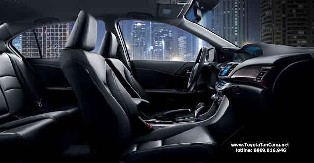 Không gian nội thất Honda Accord