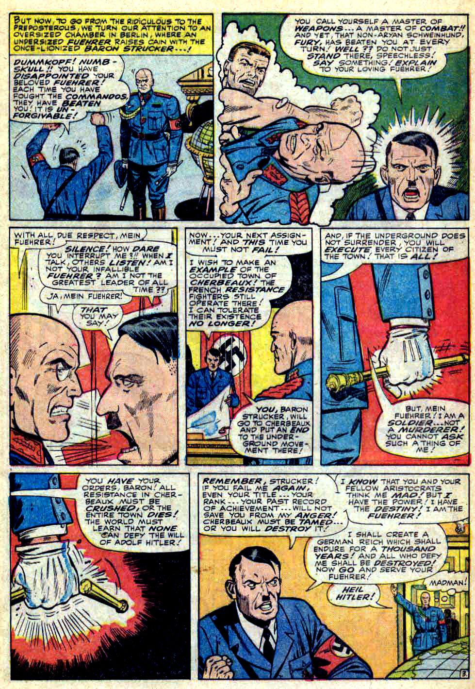 Read online Sgt. Fury comic -  Issue #28 - 5