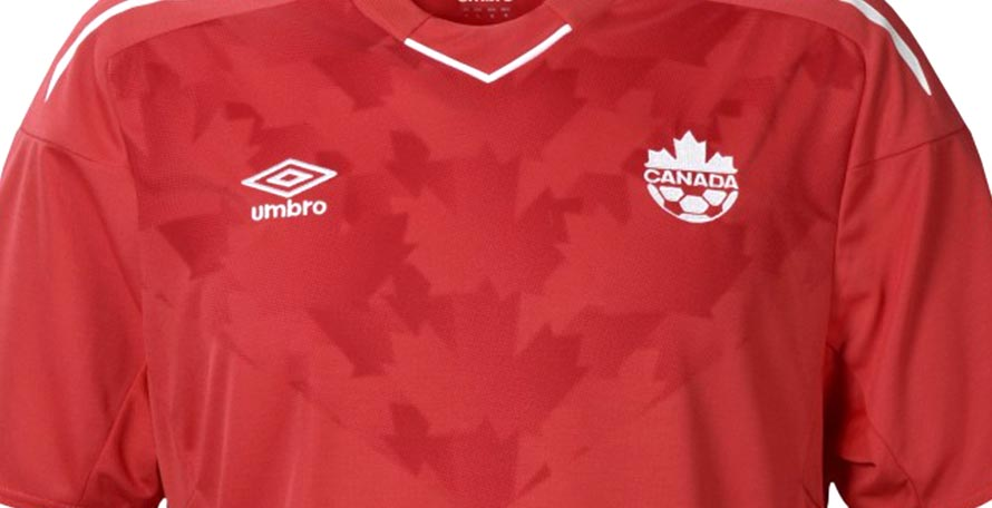 Class canada 2018 home kit released footy headlines for Canadian kit homes