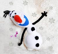 Olaf-amigurumi