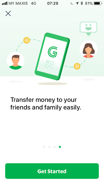 GrabPay welcome screen #4