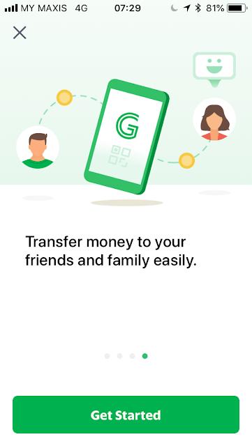 GrabPay welcome screen #4