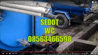 Sedot Limbah STP Bangkalan Madura