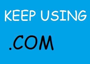 How to keep using .com at blogspot