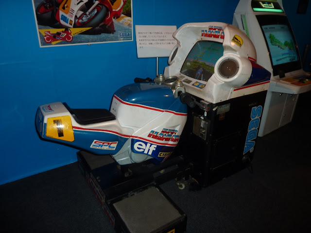 Hang On arcade cabinet