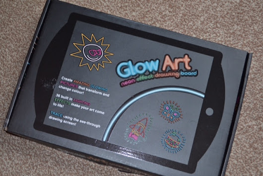Glow Art Review & Giveaway!