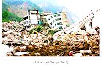 Pengertian Gempa Bumi dan Penyebabnya