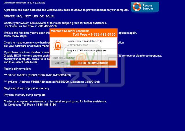 TSS Microsoft Help Desk (Falso soporte)