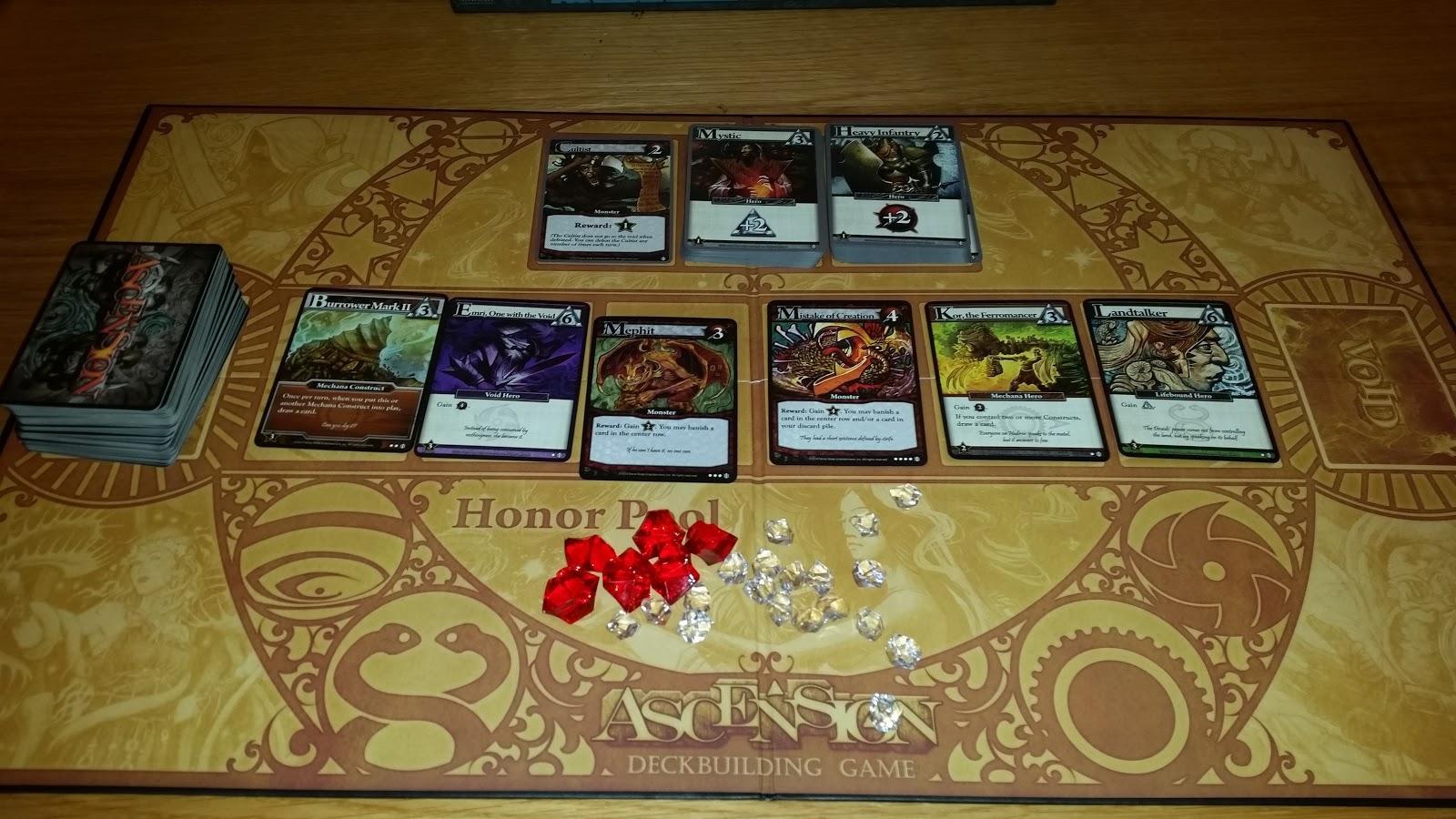 Dragonfire Deck Building Game Review