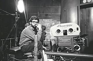 George Lucas durante los rodajes