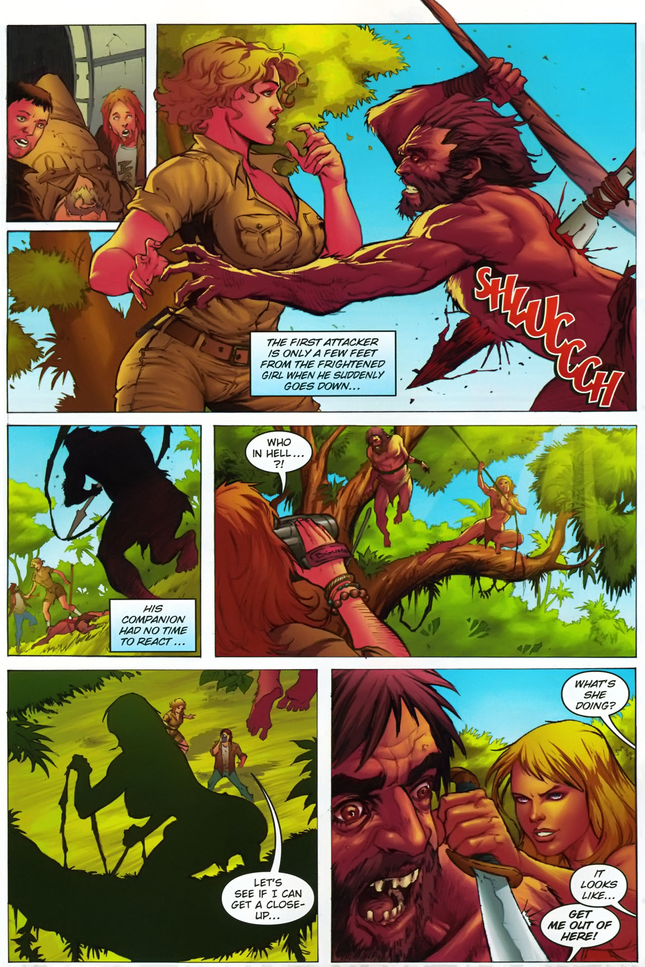 Read online Jungle Girl comic -  Issue #1 - 9