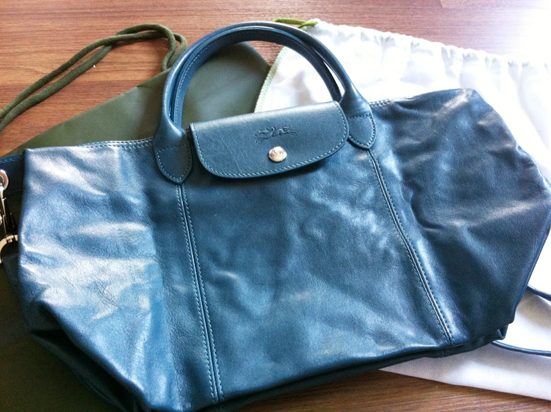 64fa07c276f0 4th order arrived  100% authentic Longchamp Le Pliage CUIR