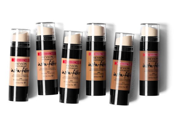 Revlon Photoready Insta-Filter Foundation Review 240 320 330 400 410 450