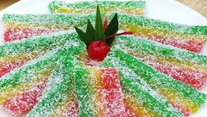 Cara Membuat Kue lapis Singkong Enak Buat saat Lebaran.